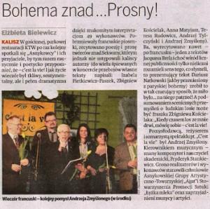 Ziemia Kaliska, Ziemia Kaliska, 15.04.2011