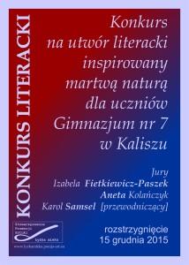 KONKURS LITERACKI KAROLA