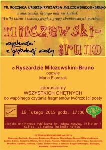 plakat bruno milczewski