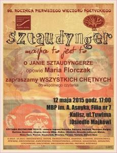 SZTAUDYNGER plakat - Kopia