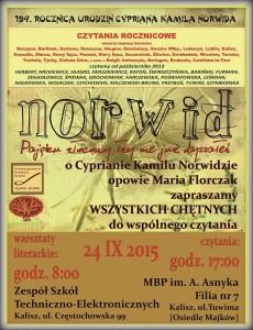 norwid plakat - Kopia